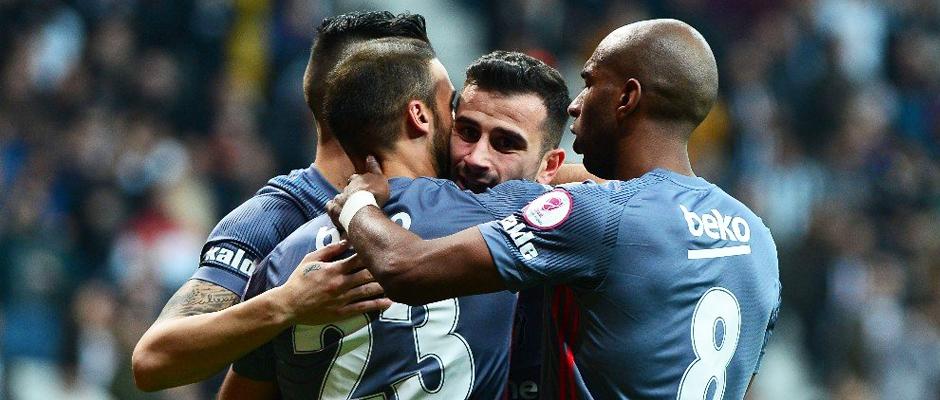 İstatistiklere göre pas yüzdesinde Beşiktaş, hava toplarında Trabzonspor öne çıktı