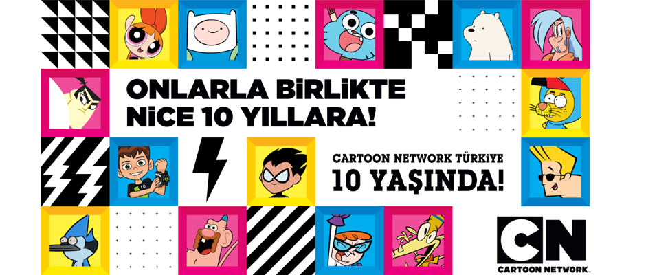 Cartoon Network Türkiye 10 yaşında