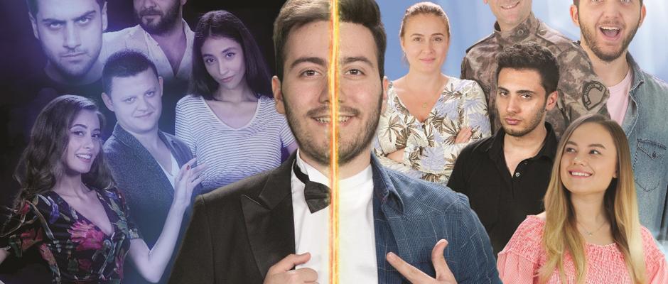 """""""Enes Batur Hayal Mi Gerçek Mi?"""" filmi vizyona girdi"""