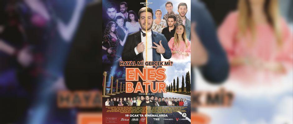 Enes Batur'un filmi tüm zamanların en iyi Cuma rakamına ulaştı