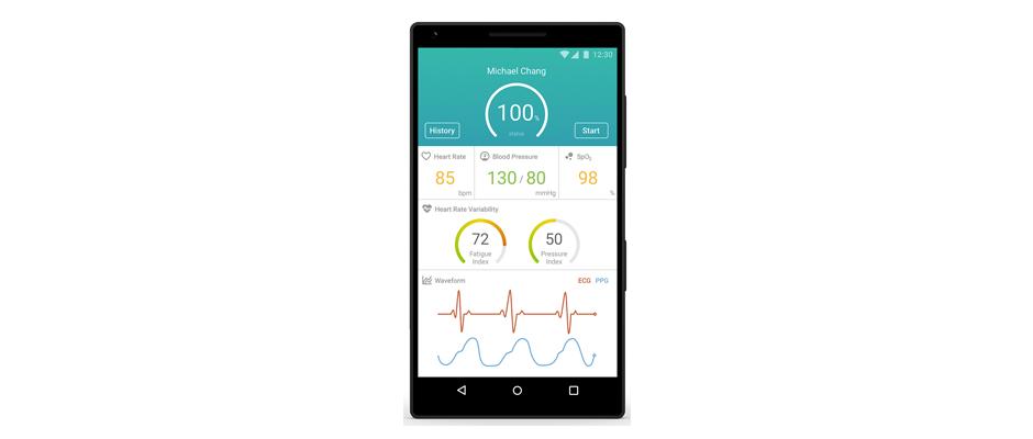 MediaTek teknolojisiyle kalp sağlığı parmak ucunda