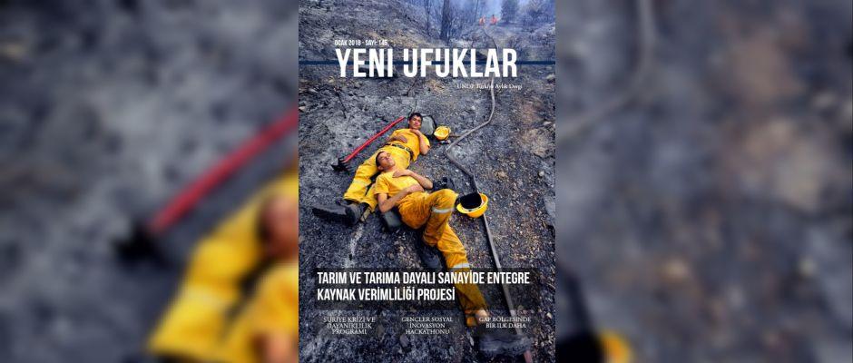UNDP'nin aylık dergisi Yeni Ufuklar'ın yeni sayısı yayınlandı