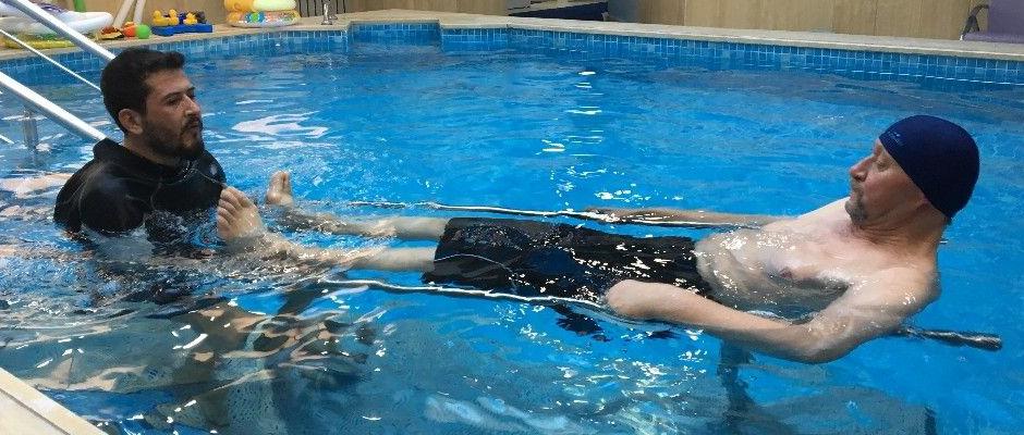 Felç ve serebral palsi hastalığında hidroterapi tedavisi