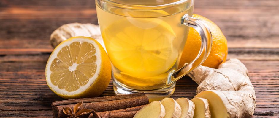 Ateşli hastalıklarda zencefil, yorgunluk için papatya çayı