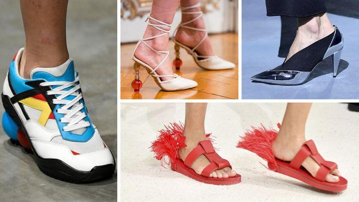 Siyah Dolgu Topuk Ayakkabı Modelleri 2020