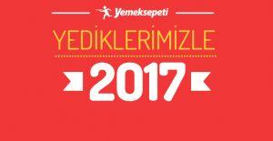 Yemeksepeti verilerine göre Türkiye'nin 2017 menüsü
