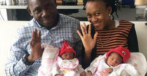 Sağlık Turizmi: Kongolu çift Ankara'da tedaviyle ikiz bebek sahibi oldu