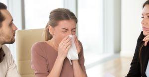 Ofis çalışanları gribal enfeksiyonlara daha hızlı yakalanıyor
